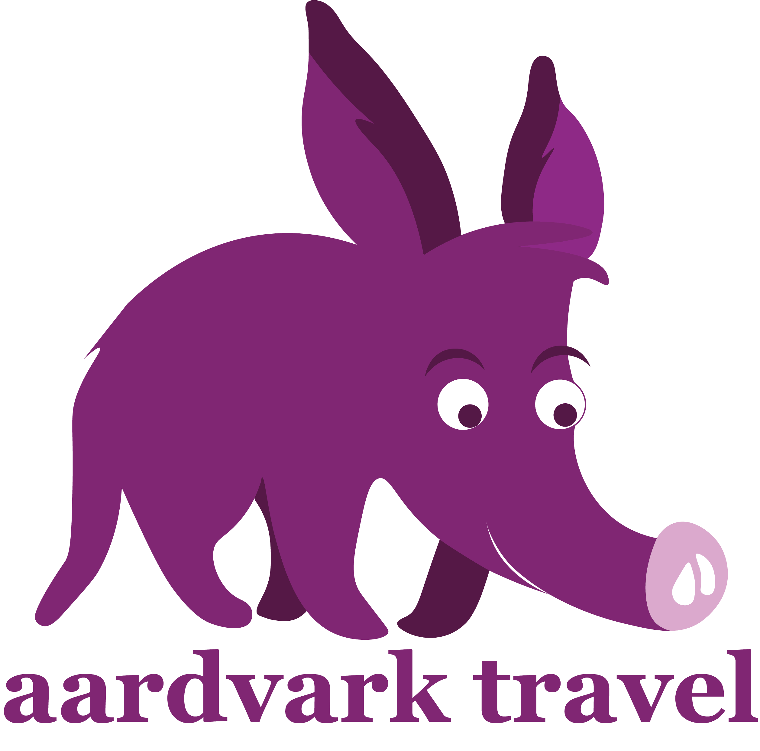Airport Taxi | Aardvark Travel Logo